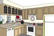 Southern Style House Plan - 4 Beds 3 Baths 2188 Sq/Ft Plan #44-107 Photo