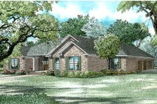 Home Plan - Ranch Exterior - Front Elevation Plan #17-174