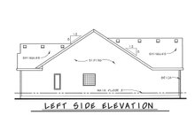 Architectural House Design - Traditional Exterior - Other Elevation Plan #20-1666