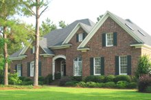 House Design - European Exterior - Front Elevation Plan #1054-54