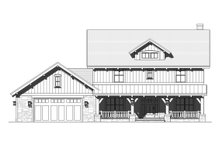 Architectural House Design - Craftsman Exterior - Front Elevation Plan #901-123