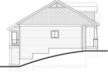 Architectural House Design - Left Side