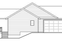House Plan Design - Ranch Exterior - Other Elevation Plan #124-883