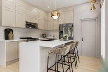 Architectural House Design - Contemporary Interior - Kitchen Plan #23-2727