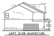 Dream House Plan - Traditional Exterior - Other Elevation Plan #20-2421