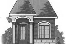 Cottage Exterior - Front Elevation Plan #23-471