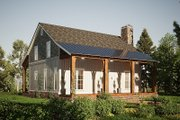 Country Style House Plan - 3 Beds 2.5 Baths 1764 Sq/Ft Plan #923-207