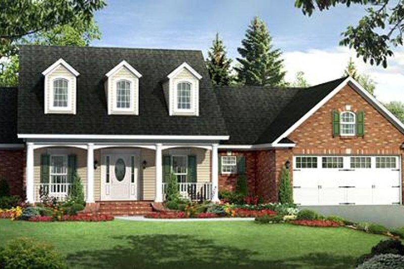 Ranch Exterior - Front Elevation Plan #21-288 - Houseplans.com