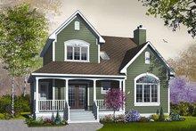 Farmhouse Exterior - Other Elevation Plan #23-735