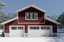 House Plan Design - Farmhouse Exterior - Front Elevation Plan #1060-82