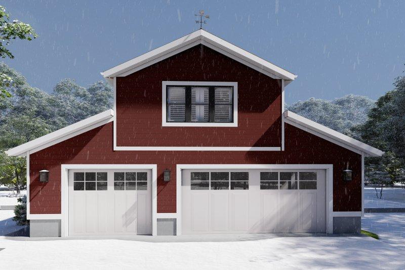Dream House Plan - Farmhouse Exterior - Front Elevation Plan #1060-82
