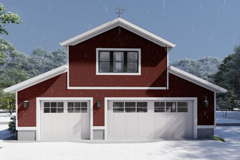 House Plan Design - Farmhouse Exterior - Front Elevation Plan #1060-82