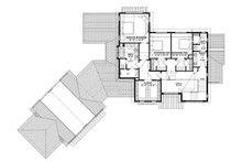 European Floor Plan - Upper Floor Plan Plan #928-342