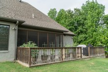 House Design - Craftsman Exterior - Rear Elevation Plan #17-3391