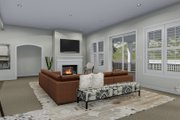 Traditional Style House Plan - 4 Beds 3.5 Baths 5212 Sq/Ft Plan #1060-69 Interior - Family Room