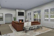 House Plan Design - Traditional Interior - Family Room Plan #1060-69