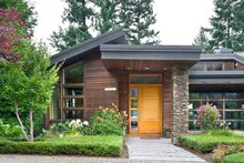 Home Plan - Modern Exterior - Front Elevation Plan #48-457