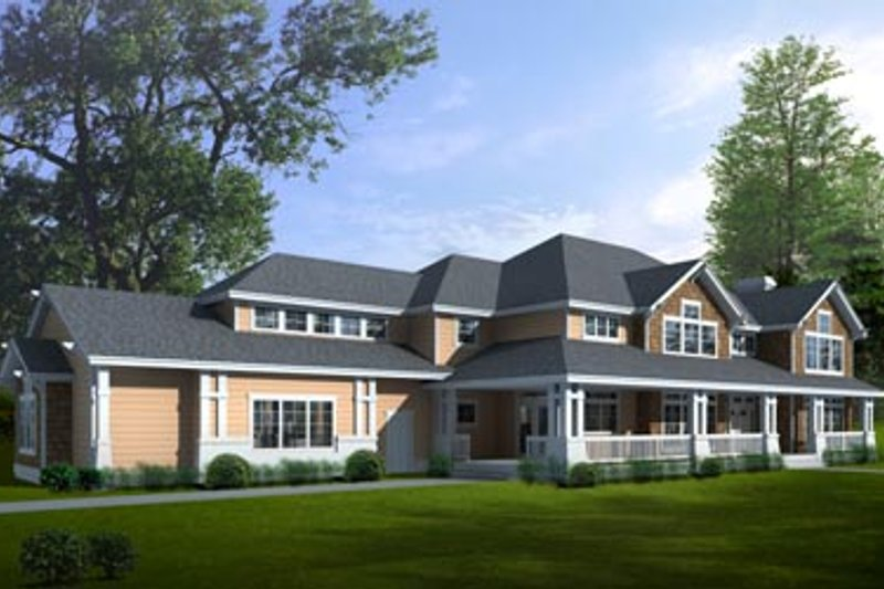 Traditional Exterior - Front Elevation Plan #100-425