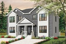 House Plan Design - Traditional Exterior - Front Elevation Plan #23-2411
