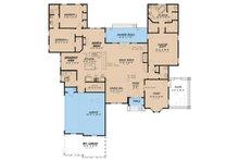 European Floor Plan - Main Floor Plan Plan #923-33