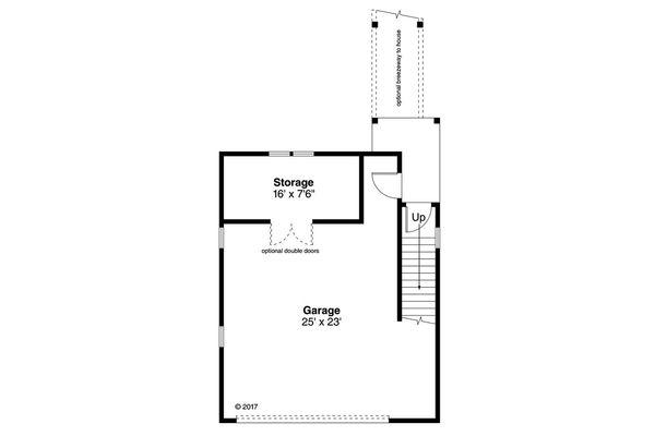 Country Floor Plan - Main Floor Plan #124-1100