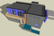 Modern Style House Plan - 3 Beds 2.5 Baths 2253 Sq/Ft Plan #518-5 Photo