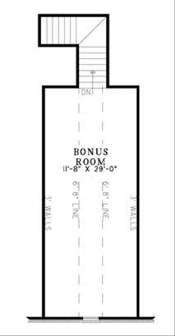 Traditional Floor Plan - Other Floor Plan Plan #17-636
