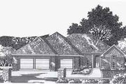 Traditional Style House Plan - 4 Beds 3 Baths 1916 Sq/Ft Plan #310-790 Exterior - Front Elevation