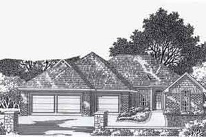 Traditional Exterior - Front Elevation Plan #310-790