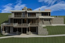 Dream House Plan - Modern Exterior - Other Elevation Plan #920-91