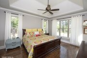 Ranch Style House Plan - 4 Beds 4 Baths 3045 Sq/Ft Plan #929-1007 Interior - Master Bedroom