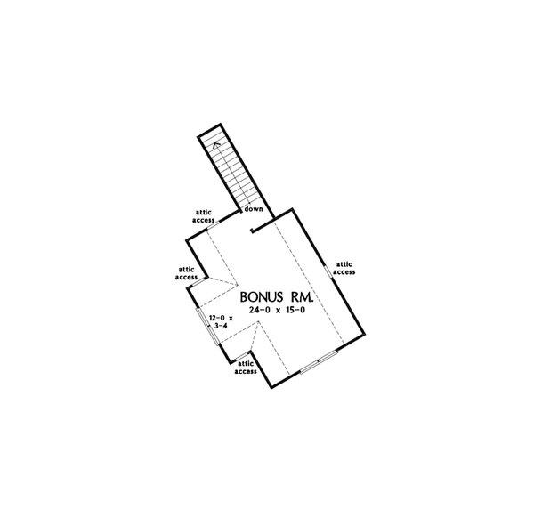 Dream House Plan - Farmhouse Floor Plan - Other Floor Plan #929-1130