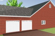 Country Style House Plan - 3 Beds 2 Baths 1735 Sq/Ft Plan #44-176 Exterior - Other Elevation