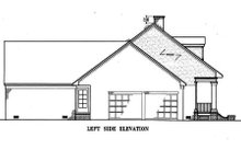 Southern Exterior - Other Elevation Plan #45-134