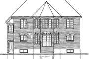 European Style House Plan - 4 Beds 3 Baths 2746 Sq/Ft Plan #23-2137