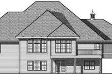 Traditional Exterior - Rear Elevation Plan #70-640