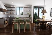 Farmhouse Style House Plan - 3 Beds 2.5 Baths 1394 Sq/Ft Plan #48-992 Interior - Kitchen
