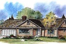 House Plan Design - Ranch Exterior - Front Elevation Plan #18-102