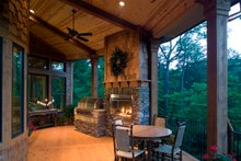Craftsman Exterior - Covered Porch Plan #54-391