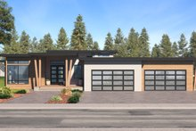 Home Plan - Prairie Exterior - Front Elevation Plan #1066-79