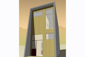 Modern Exterior - Front Elevation Plan #469-2