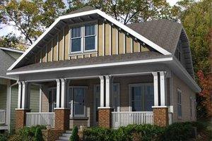 Craftsman Exterior - Front Elevation Plan #461-11