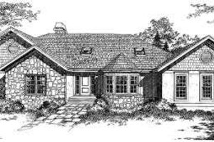 Traditional Exterior - Front Elevation Plan #322-105