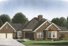 Dream House Plan - European Exterior - Front Elevation Plan #410-270