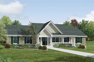 Farmhouse Exterior - Front Elevation Plan #57-356