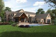 European Style House Plan - 4 Beds 4.5 Baths 7149 Sq/Ft Plan #48-689 Exterior - Rear Elevation