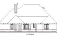 Dream House Plan - European Exterior - Rear Elevation Plan #45-356