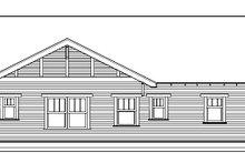 Dream House Plan - Craftsman Exterior - Other Elevation Plan #434-4