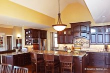 Architectural House Design - Craftsman Interior - Kitchen Plan #929-861