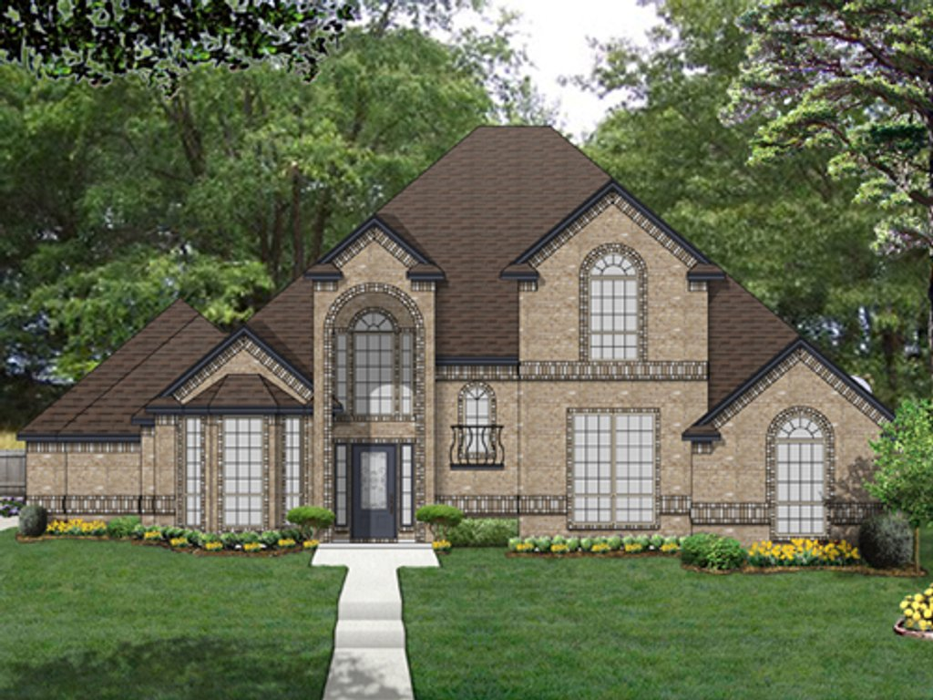 Traditional style house plan 4 beds 3 baths 2705 sq ft for Www eplans com